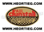 Paul Dunstall Sport Tank and Fairing Transfer Decal DDUN3-5